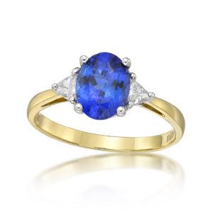 Classic 1.67 Carat Tanzanite Ring